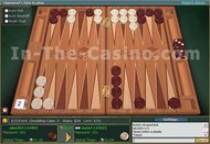 Online Backgammon Tournament screenshot